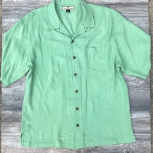Tommy Bahama Silk Booze Beach Shirt Summer XL